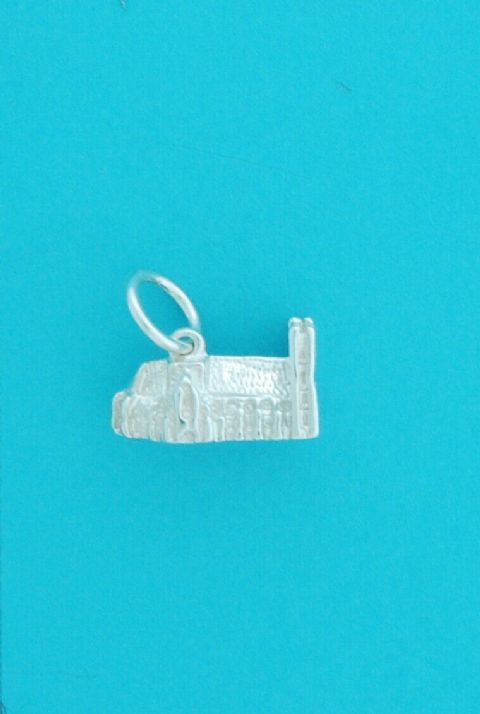 Genuine 925 Sterling Silver London Westminster Abbey Charm